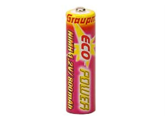 Hochleistungsbatterie Mignon ECO-Power 1,2V/800mAh