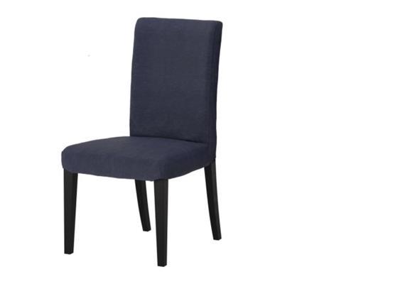Stuhl zu Esstisch - Blau