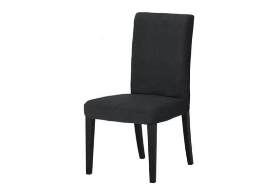 Stuhl zu Esstisch - Schwarz