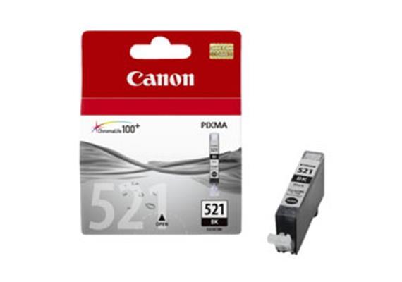 CANON Tintenpatrone PGI-521BK schwarz, 9ml, zu PiXMA iP3600/4600/ MP980/630/620/540